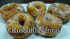 Rosquillas Fritas. Receta casera