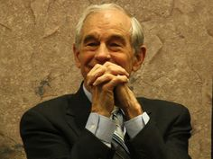 Ron Paul prays for a return to the Gold Standard.