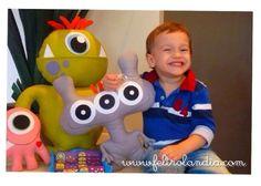 Feltrolândia : Decoração Festa Infantil - Monstrinhos