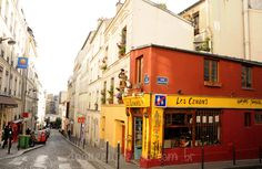 Pelas ruelas e ladeiras de Montmartre