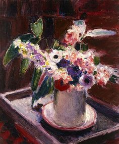 bofransson: Roderic O'Conor (Ireland, France 17 Oct 1860 – 18 Mar Anemones and stock in white jug Flower Vases, Flower Art, Architecture Art Design, Irish Art, Oil Painting Flowers, Post Impressionism, Still Life Art, True Art, Types Of Flowers