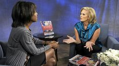 """I am so glad I got to sit down with Deborah Roberts and talk about my new book """"The Romney Family Table."""" Thank you ABC and Yahoo! Newsmakers for having me! #RomneyFamTable #Romney #Cookbook #Recipes"""