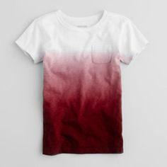 J.Crew Ombre T-Shirt.
