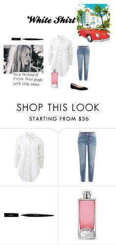 """""""Classic white shirt"""" by billie-ann-richardson on Polyvore featuring mode, Bardot, rag & bone, 7 For All Mankind, Guerlain, st et WardrobeStaples"""