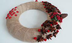 Model: Uğurlu Evim, door wreath, wreath, diy, handmade, doityourself, gift, giftideas