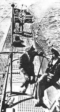 U-boats were German submarines that caused havoc in World War Two during the Battle of the Atlantic. U-boats were so damaging that Winston Churchill commented that it was the only time in World War Two that he thought Britain would have to contemplate surrendering.