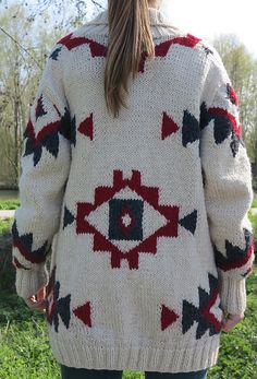 Ravelry: Project Gallery for Gilet Navajo pattern by Phildar Design Team