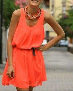 Très belle robe pour l'été