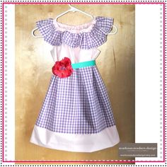 Ivy Dress  Made to Order Girls Gingham by MarKoosModernDesign, $38.50    Check out markoosmoderndesign.etsy.com for more quality handmade clothes at affordable prices