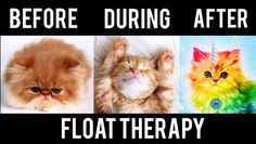 This is how you'll feel after a float