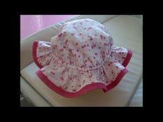 Diy como fazer chapeu infantil de 6 meses a 4 anos com molde ddbec134197