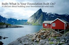 """Right now at LifeLetter Cafe ... """"Heavenly Father, above all else, may we seek you and not the world .. @Washburnchic  Read & refresh-forward Tammy and """"Built: What Is Your Foundation Built On?"""" here .."""