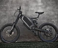 Take your riding to new heights by combining traditional pedaling power with electric thrust while riding round on this stealth electric bike. It's propelled by a 3.7 kW motor and is capable of reaching speeds up to 37 miles per hour.