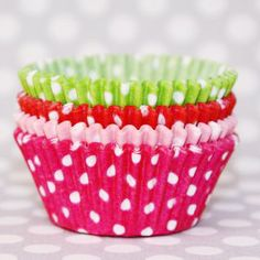 Strawberry Shortcake cupcake liner mix