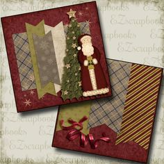 Christmas Premade Scrapbook pages! Just add photos to this layout! Complete your scrapbooks easily with our quick pages! Scrapbook Printables, Scrapbook Designs, Scrapbook Sketches, Scrapbook Page Layouts, Scrapbook Supplies, Scrapbook Templates, Photo Layouts, Christmas Scrapbook Layouts, Scrapbook Paper Crafts