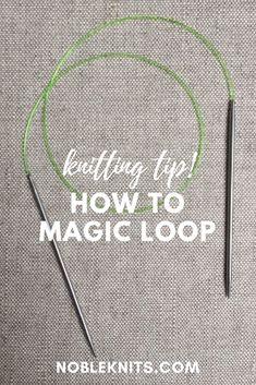99499bec594 36 Best Magic Loop Knitting images