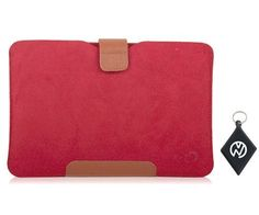 Amazon Kindle Fire Red MicroSuede Super Slim Sleeve Case. Includes NuVur ™ keychain. (MBAR07R1) by Kroo. $9.99. Protect your investment from minor bumps, scratches and debree with this one of a kind sleeve case, made from the finest quality materials with Style and Durability in mind. Fits your Amazon Kindle Fire 7 I-nch Tablet. Includes NuVur ™ keychain.