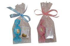 Leuk als relatiegeschenk, bedankje of originele give away. Heerlijke geboorte thee met chocolade in een zakje, leuke en lekkere traktatie of origineel kraambedankje.