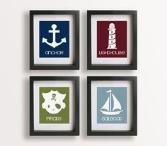 nautical themed prints