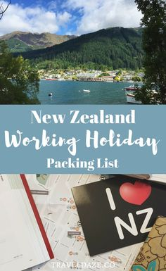 New Zealand Working Holiday Packing List: Everything I packed for 1 year in New Zealand Work In New Zealand, Moving To New Zealand, New Zealand Travel Guide, Holiday Packing Lists, Packing List For Travel, Packing Tips, Travel Jobs, Work Travel, Summer Travel