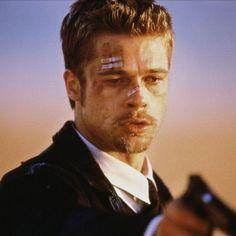 """Brad Pitt en """"Seven"""", 1995"""