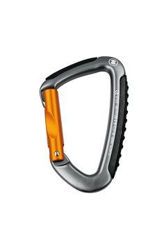 Hook, aluminium, galvanized, orange, rugged