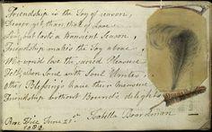Memorials of Friendship Victorian scrap book