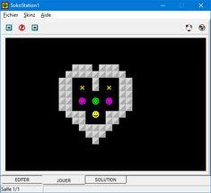 SokoStation 1 - SOKOBAN Ibm Pc, Jouer, Games, Gaming, Plays, Game, Toys
