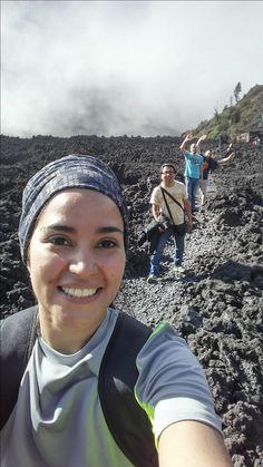 Zona rocosa del Volcán de Pacaya.  2252 msnm