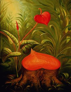 Vladamir_Kush-Hearts_for_the_Future_Generations #CRAZY AWESOME PAINTINGS BY VLADIMIR KUSH