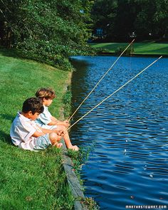 diy bamboo fishing pole for kids