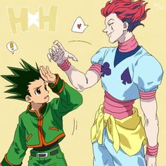 Hisoka and Gon Freecs Hunter x Hunter