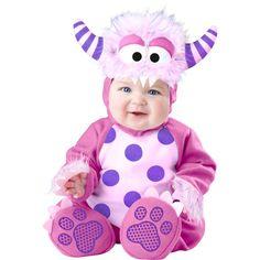 Pink Monster Baby Fancy Dress Costume , Baby Costume - In Character, Ayshea Elliott