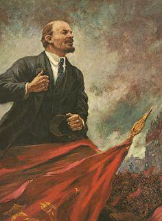 Lenin en la tribuna (1930) Aleksandr Gerasimov