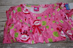 What A Doll Girls Nightgown ~Santa Presents Candy Canes ~Med 7/8 ~ New with Tags #WhatADoll #Nightgown