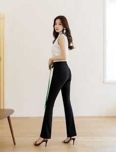 Styleonme_Devil Fit High Rise Semi Bootcut Summer Pants vol. 55 . . #styleonme_global #fashion #picoftheday #photooftheday #style #ootd #mixandmatch #shopping #instadaily #selfie #fashionstagram #kstyle #kfashion #koreanlook #koreandaily #koreanfashion #kbeauty #followme #like4like #dailylook #styleonme #classy #koreanfashion #fashionkorea #ontrend #newarrivals #kdramafashion #ss21 #devilfitpants #devilfit #highriseslacks #devilfitslacks #summerslacks #officeoutfits #officestyle #officepants Skirt Pants, Jeans Pants, Korean Look, Summer Pants, Office Fashion, Daily Look, Office Outfits, Slacks, Korean Fashion