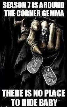 Season 7 is around the corner.... SOA/Gemma Teller/Jax Teller/sons of anarchy/fear the reaper