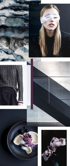Color mood board. Just love the texture and feel to this. More of a brand board than a collection for fashion.
