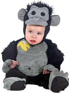 Baby Kostüm Gorilla - Tierkostüm Gorilla für Babys