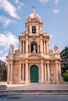 Scicli, church of San Bartolomeo / Baroque Architecture, Religious Architecture, Classical Architecture, Historical Architecture, Toscana Italy, Sicily Italy, Sorrento Italy, Naples Italy, Venice Italy