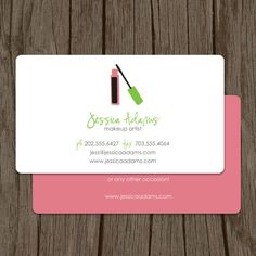 38 best makeup business card inspirations images on pinterest makeup artist business card calling card mommy card contact card cosmetologist calling cards makeup business cards colourmoves