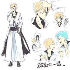 Arrancar Ichi xp discovered by Vongola Primo on We Heart It Bleach Anime, Bleach Ichigo Bankai, Bleach Fanart, Anime Manga, Anime Art, Bleach Pictures, Bleach Couples, Bleach Characters, Arrancar