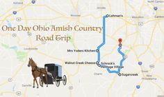 If you only have one day to spend in this beautiful portion of the state, it can be really tricky to pick out what spots to explore. Amish Town, Amish Country Ohio, Country Roads, Rv Travel, Family Travel, Places To Travel, Places To Go, Travel Tips, Travel Gadgets