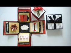 Anniversary / Valentine special explosion box tutorial | by Srushti Patil - YouTube