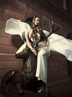 "Wedding dress ""Beatrice"" by WEISS ZU SCHWARZ"