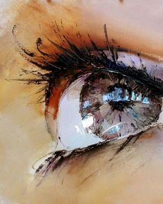 What world can you see through the opening of your eyes? This could be a fantastic starting point for a final piece.