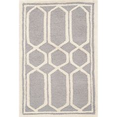 Holly Rug in Silver & Ivory - Rugs from Safavieh on Joss & Main