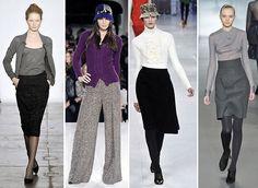 dicas de consultoria de estilo pra variar os conjuntos formais/tradicionais e acrescentar personalidade ao look de trabalho.
