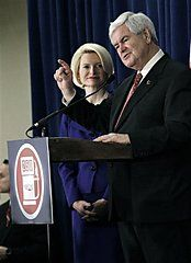 72 #prezpix #prezpixng   election 2012  candidate: Newt Gingrich  publication: abc news  photographer: AP Photo/Rogelio V. Solis  publication date: 3/18/12