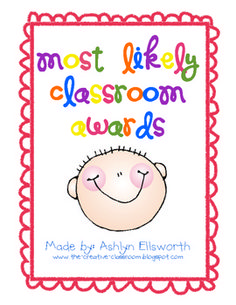 This includes printable certificates to give each individual student in your class. You can have the class vote on each or you could hand them out ...